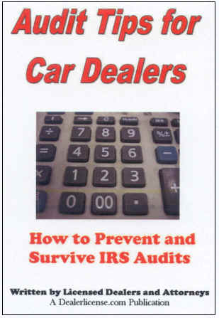 Irs Audit Guide Used Car Dealers